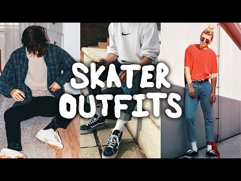 TOP 10 STREETWEAR SKATER INSPIRED OUTFITS
