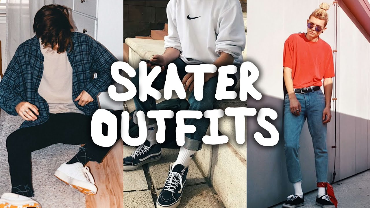 15252e34a48 TOP 10 STREETWEAR SKATER INSPIRED OUTFITS - YouTube
