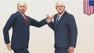 PPAP parody: Donald Trump and Mike Pence
