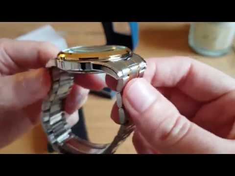 Sekonda (3878) Two Tone Chronograph - Watch Unboxing