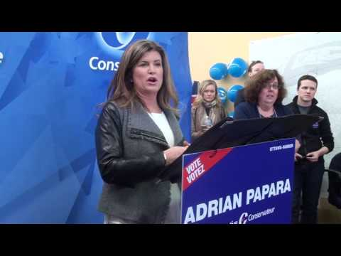 The Right Honorable Rona Ambrose-Ottawa-Vanier By-Election-2017