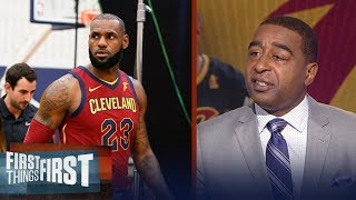 LeBron comments on Sunday's protests: 'We have to find a way to come together' | FIRST THINGS FIRST