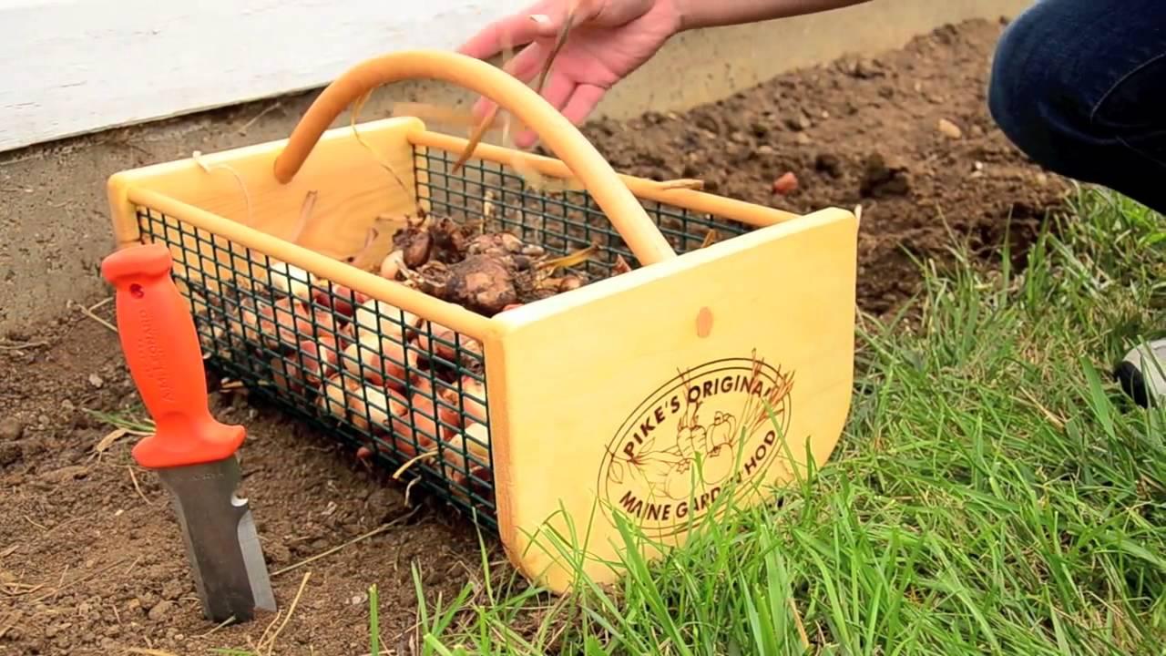 Garden Hod Basket Gardeners Edge YouTube