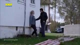KIKA zeigt flirtendes Mädchen im Flüchtlingsheim   Trio - Odins Gold