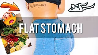 My FLAT TUMMY SECRETS! Nutrition Diet and Exercise for Abs