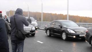 видео Бугринский мост в Новосибирске