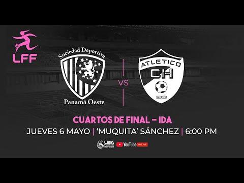 LFF Cuartos de final - ida Panama Oeste vs Atletico Chiriqui