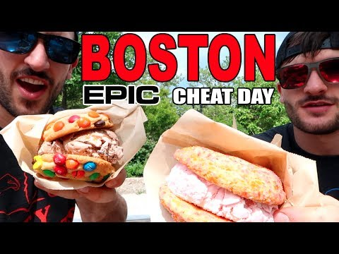Full Day of Eating EPIC Cheat Day | Boston, MA Cheat Day