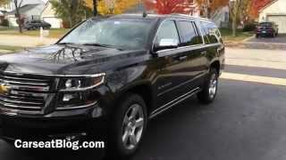 2015 Chevy Suburban Review: Kids, Carseats & Safety