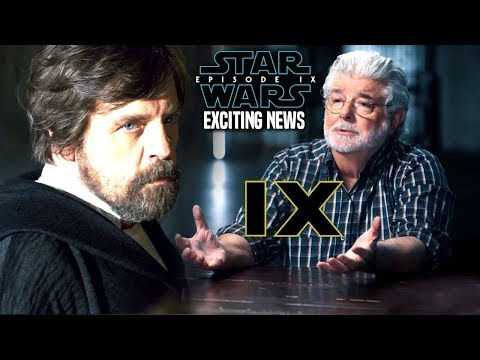 George Lucas Is Fixing Luke In Episode 9! & More (Star Wars News)