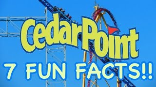 Cedar Point Fun Facts