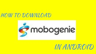 #HOW #TO #DOWNLOAD# MOBOGENIE# PRO# APP