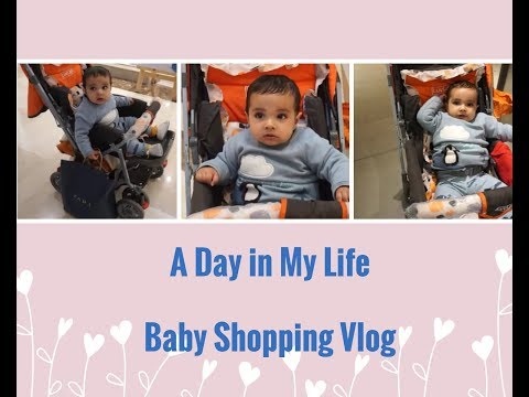 Our First Vlog of Baby Shopping |A Day in My Life |  Sunday Vlog