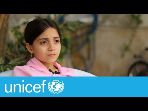 A bomb explodes, growing up in Aleppo | UNICEF