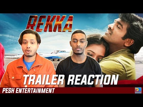 Rekka Trailer Reaction & Review | Vijay...