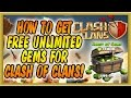 Gambar cover Clash of Clans  How to Get UNLIMTED Gems   No Survey/No Password WORKING APRIL 2017