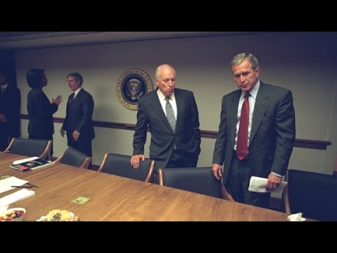 Newly released photos show Bush, Cheney on 9/11