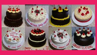 Download 20+ Chocolate Cake Design with Cherries / Homemade Chocolate Caka with Cherry Toppings