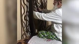 HUZUR SHAIKHUL ISLAM MADNI MIYAN WITH GRAND SON