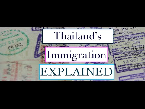 Thailand's Immigration. A Detailed look at Thailand Immigrations Regulations and Policies..