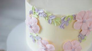 УКРАШЕНИЕ ТОРТА ПОКОРИТ ВАС СВОЕЙ ПРОСТОТОЙ Нежное украшение торта за 10 минут Украшение тортов
