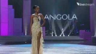 Miss Universe 2011 Preliminary - ANGOLA (Leila Lopes)