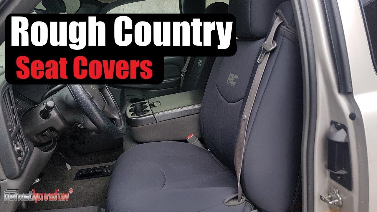 Rough Country Neoprene Seat Covers (Chevy Silverado ...