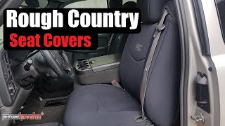 Rough Country Neoprene Seat Covers (Chevy Silverado) | AnthonyJ350