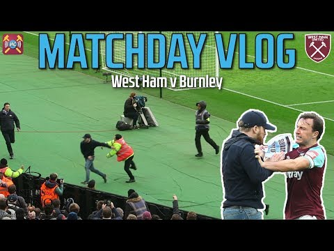 West Ham 0-3 Burnley | Vlog | Gold & Sully Forced From Seats | Troubled Times For Hammers