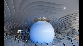 China unveils eye-shaped futuristic library