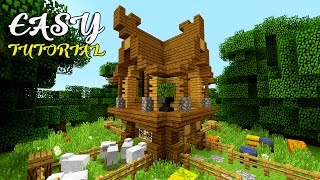 Cute Easy Compact Minecraft Survival House Tutorial Best Minecraft House Ever Youtube