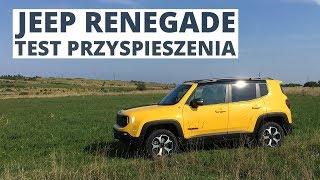 Jeep Renegade 2.0 MultiJet 170 KM (AT) - acceleration 0-100 km/h