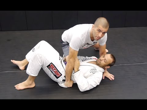 Knee On Belly to Mount & Back controls - BJJ Basics