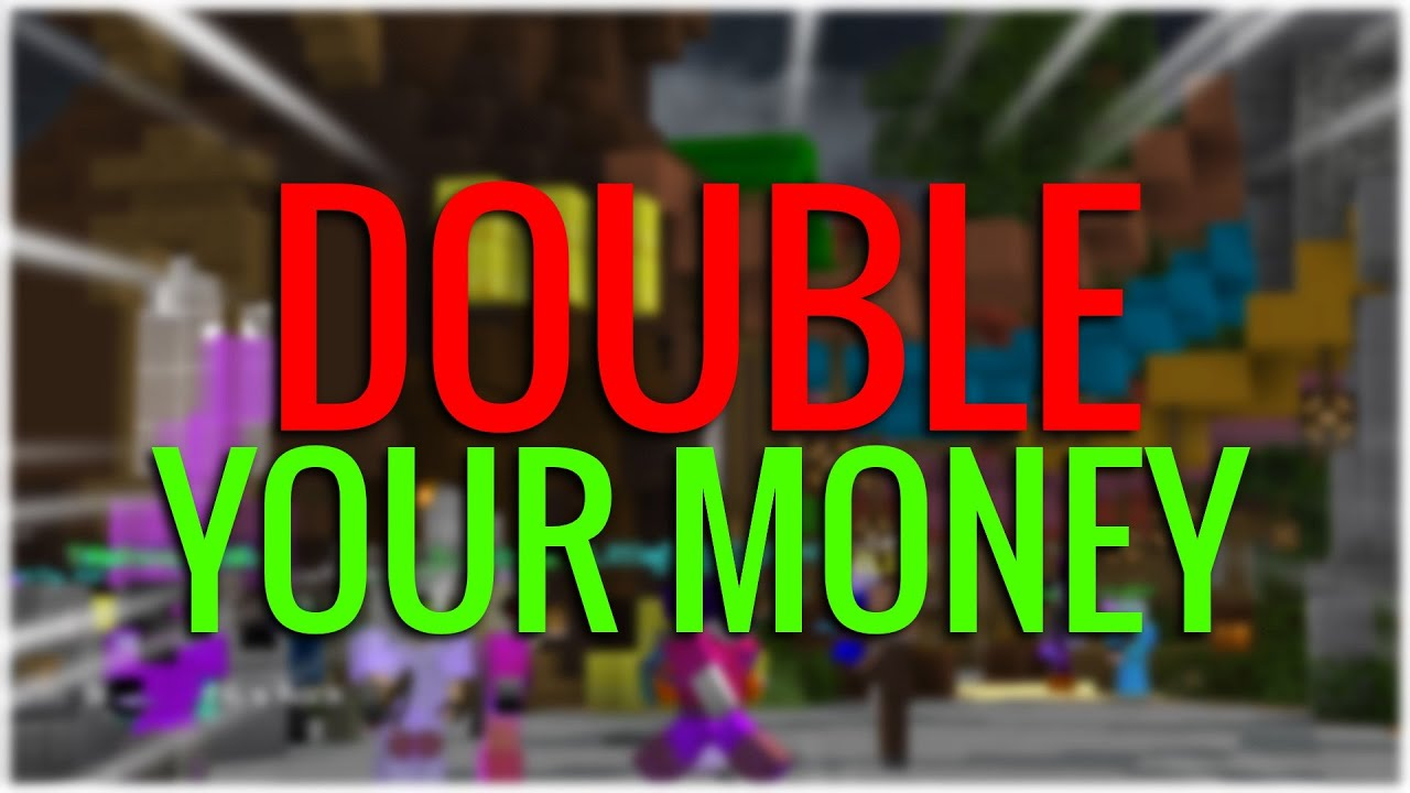 How to EASILY double your money in 1 minute! (Hypixel Skyblock)
