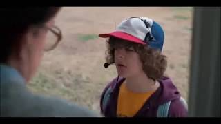 Stranger things Dustin and Mike's dad