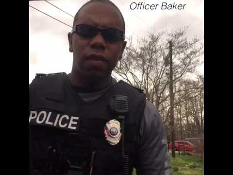 Traffic stop with Trump supporter-Officer Baker