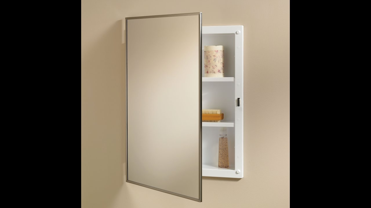 Recessed Mirror Cabinets For Bathrooms