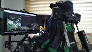 Play EVE valkyrie for CV1 with 6AXIS Motion simulator