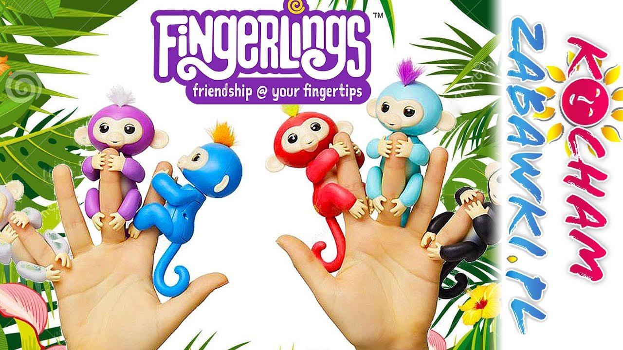 Fingerlings • Zabawne Małpki Interaktywne • WowWee • Interaktywne zabawki