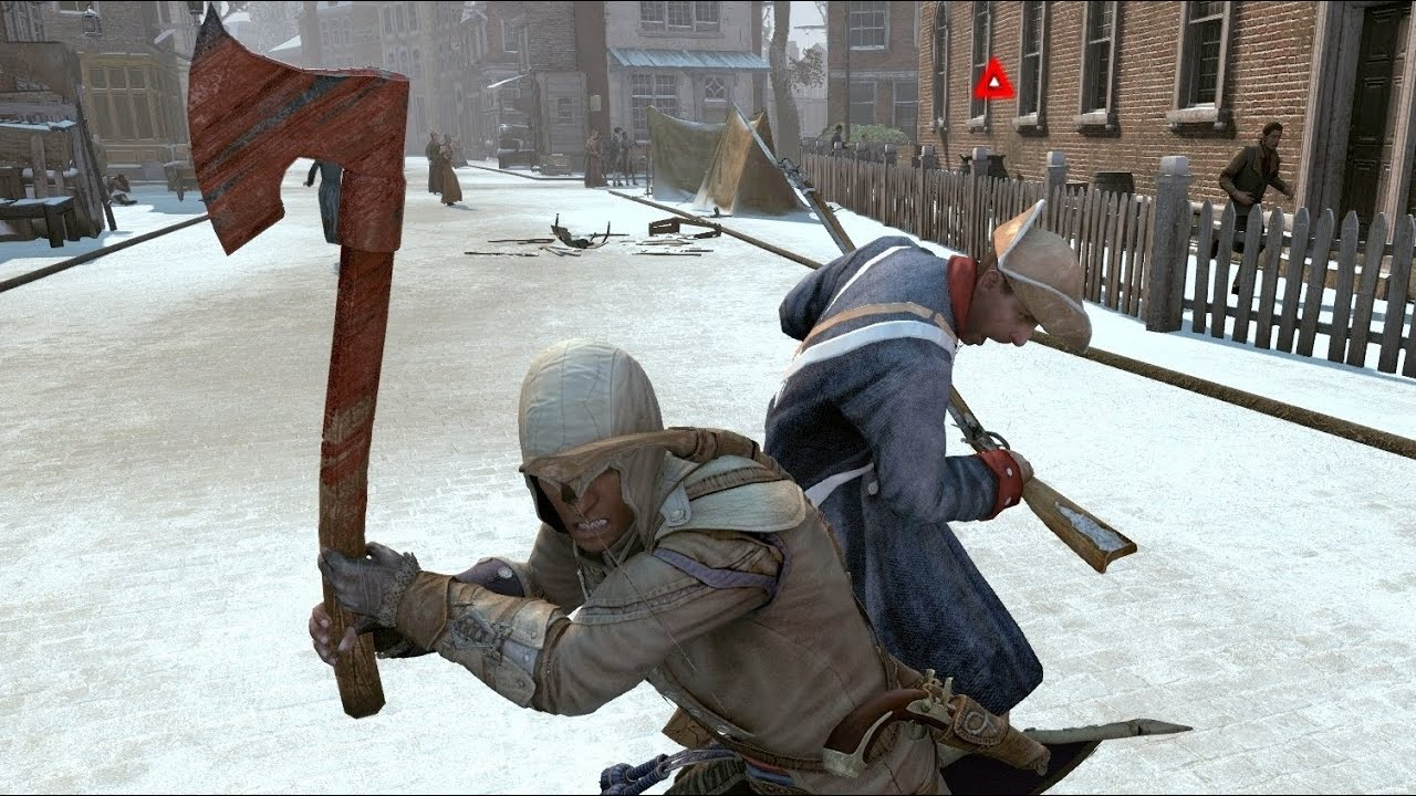 Assassin's Creed 3 Advanced Fighting - YouTube