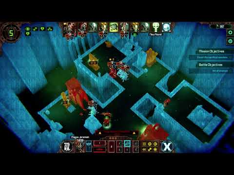 Warhammer 40,000 Mechanicus gameplay on very hard |
