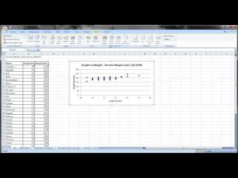 Linear Regression With Excel 2010