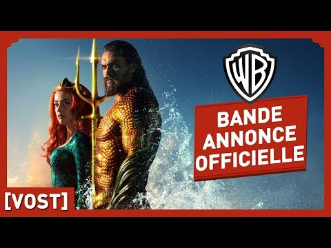 Aquaman - Bande Annonce Officielle 2 (VOST) - Jason Momoa / Amber Heard