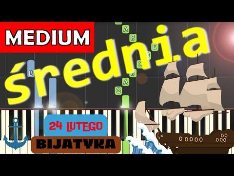🎹 24 lutego (Bijatyka) - Piano Tutorial (średnia wersja) 🎹