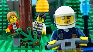 LEGO City Mountain Fugitive STOP MOTION LEGO City Catch The Crooks | LEGO City | By Billy Bricks