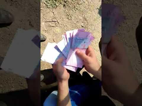 Оперативное видео задержания полицейского на взятке в Торецке