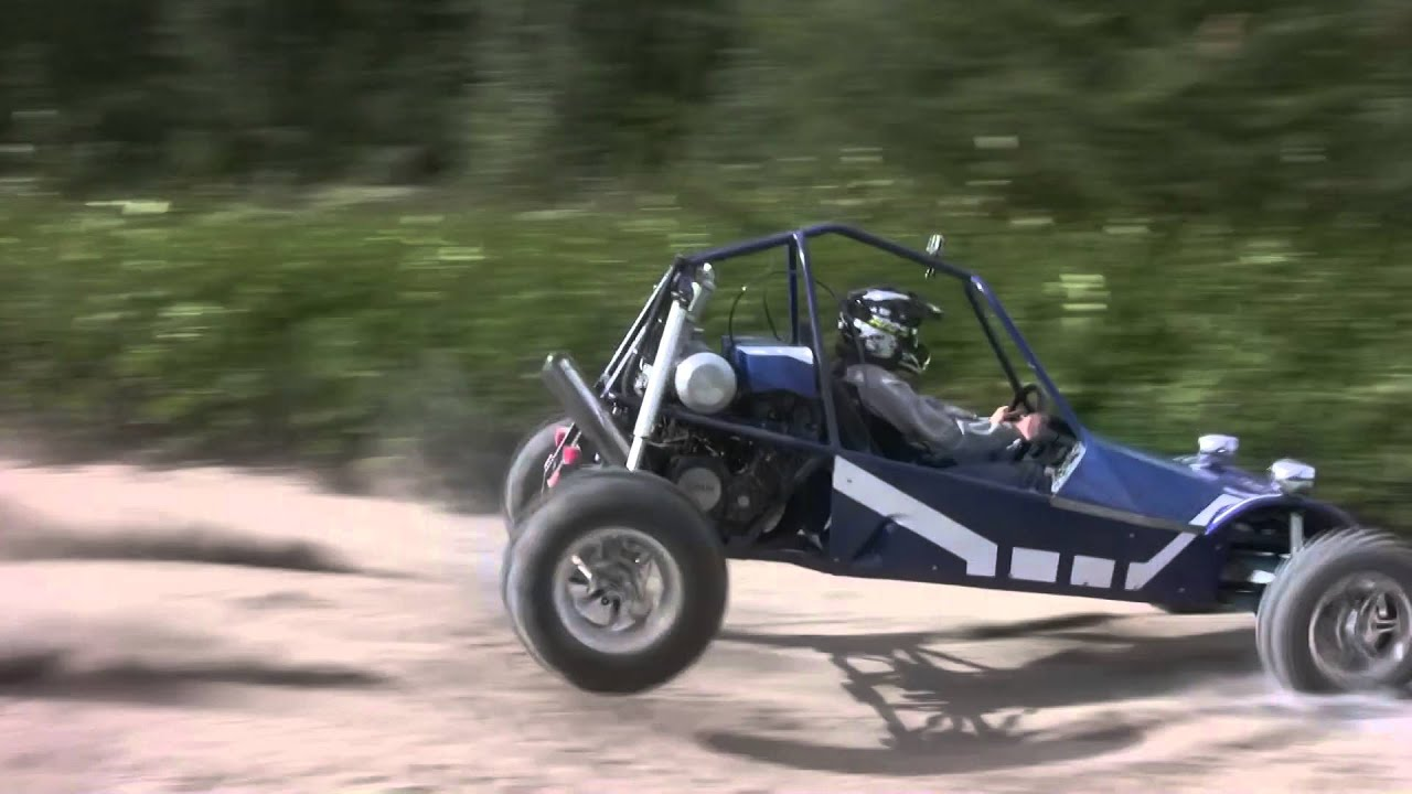 long travel suspension test buggy