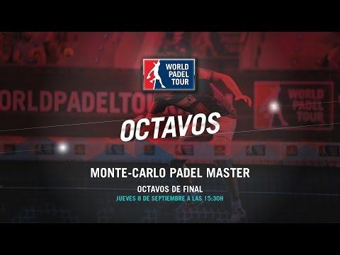 DIRECTO - Octavos de Final Monte-Carlo Padel Master 2016 | World Padel Tour