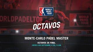 DIRECTO - Octavos de Final Monte-Carlo Padel Master 2016   World Padel Tour