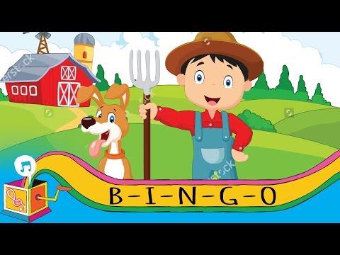 B-I-N-G-O (Bingo Was His Name-o)   Nursery Rhyme   Karaoke